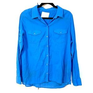 Sonoma blue button down top Sz XL